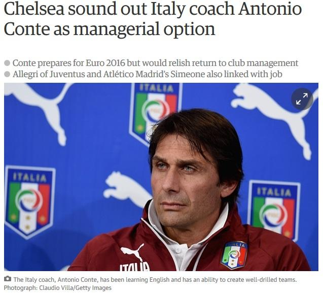 Guardian: «Conte al Chelsea con Nainggolan e Sabatini»