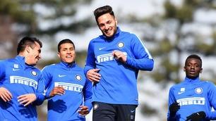 Inter, ad Appiano Gentile è tornato il sorriso: ora c'è la Juventus