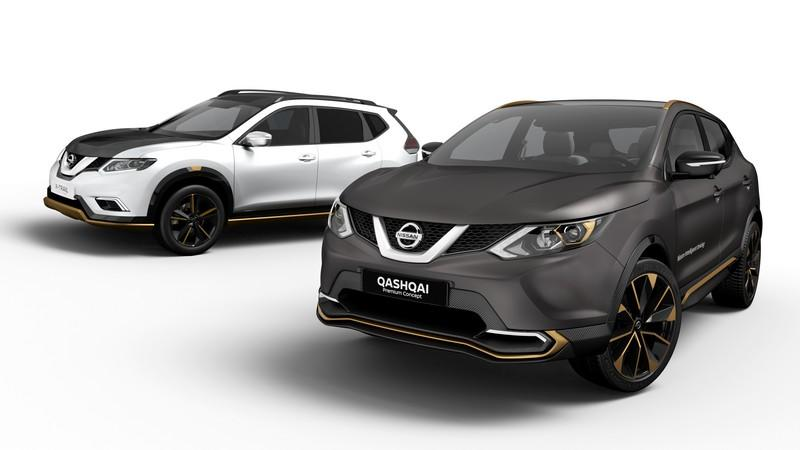Nissan Qashqai e X-Trail Premium Concept