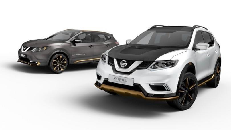 Nissan a Ginevra con Nissan Qashqai e X-Trail Premium Concept