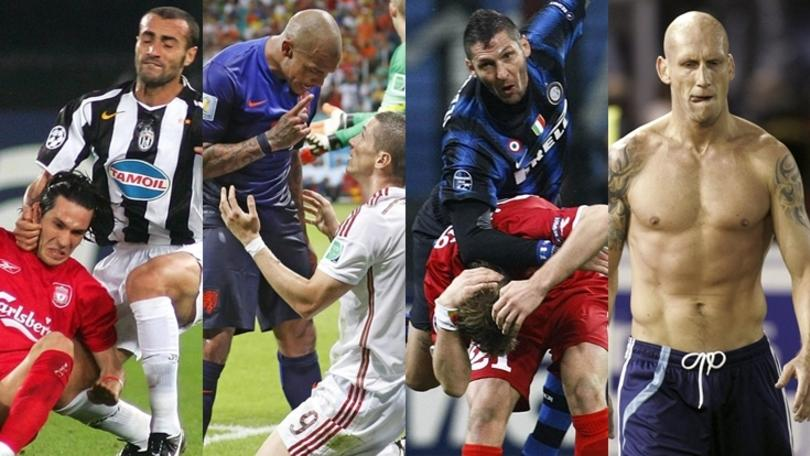 Da Montero a Materazzi, ecco i bad-boys del calcio
