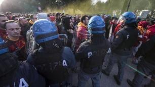 Europa League, Lazio-Galatasaray: i tifosi turchi creano disordini in pieno centro