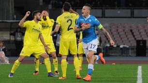 Europa League, Napoli-Villarreal: la partita al San Paolo