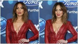 Jennifer Lopez da sogno al party per i finalisti di American Idol