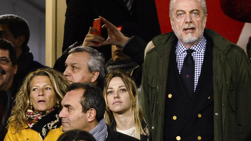 Serie A Napoli, De Laurentiis: «Higuain? Chilo e mezzo in più come un mattone»