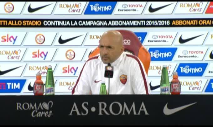 """Spalletti: """"Totti? Non voglio più parlarne"""""""