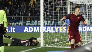 Serie A, Empoli-Roma 1-3:El Shaarawy show, che doppietta!