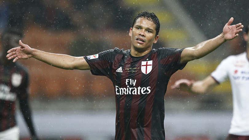 Serie A Milan, per Bacca lavoro a parte