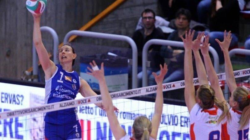 Volley: A1 Femminile, Vicenza schianta Bolzano