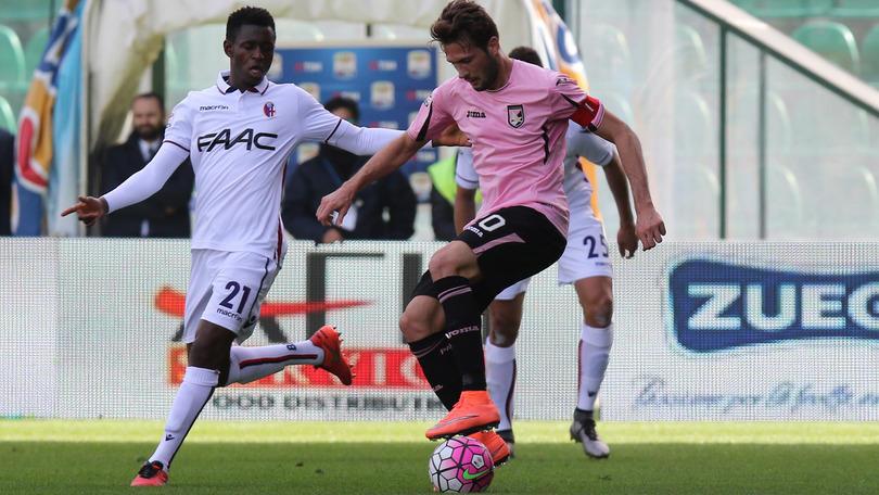 Serie A, Palermo-Bologna 0-0: Vazquez furibondo per il cambio