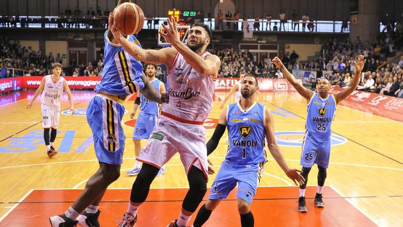 Basket Serie A, Reggio vittoria all'italiana