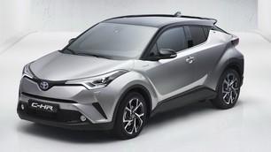 Toyota C-HR, Salone di Ginevra 2016