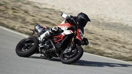 Ducati Hypermotard 939 SP, la prova in pista
