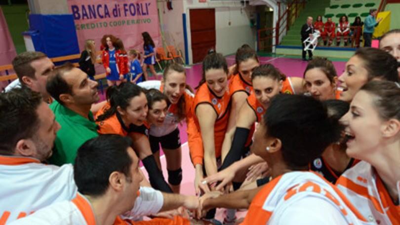 Volley: A2 Femminile, Forlì vince a Cisterna, Soverato fatica con Chieri