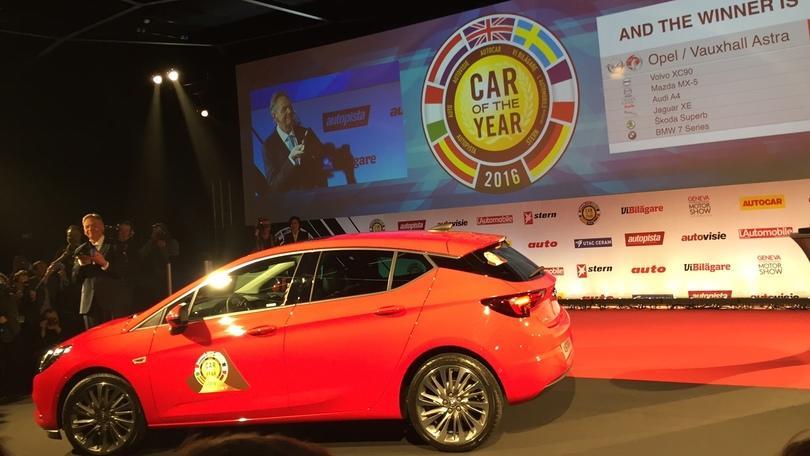 Auto dell'Anno 2016, Opel Astra è la nuova regina