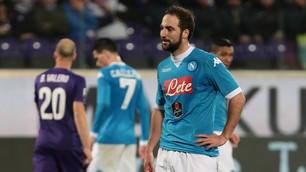 Serie A, Fiorentina-Napoli 1-1: Sarri frena ancora, Higuain non basta