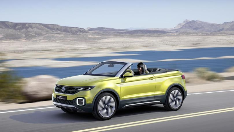 Volkswagen T-Cross Breeze, Polo diventa un SUV cabrio