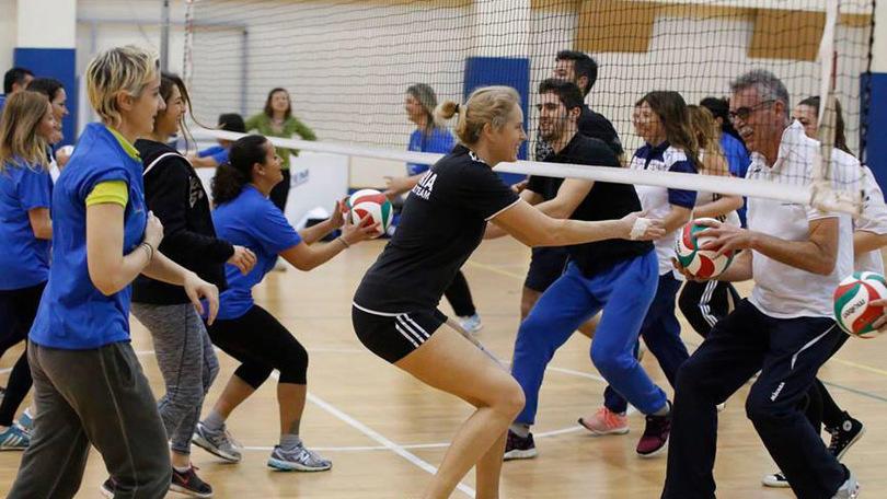 Mamanet, il nuovo sport per le mamme
