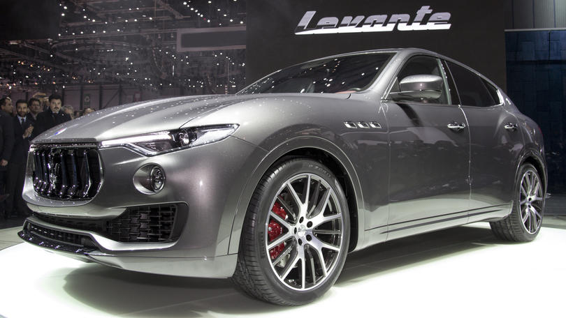 Maserati Levante, wind of changes
