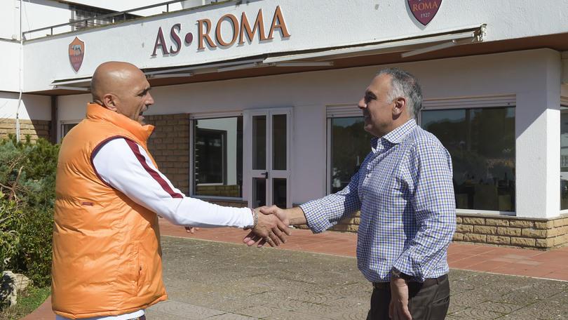 Roma, parla Pallotta: «Totti? Io sto con Spalletti»