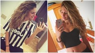 Valentina, il portafortunadi mister Allegri e della Juventus