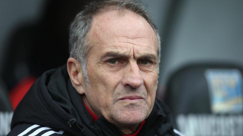 Swansea, infezione toracica per Guidolin: stasera non sarà in panchina