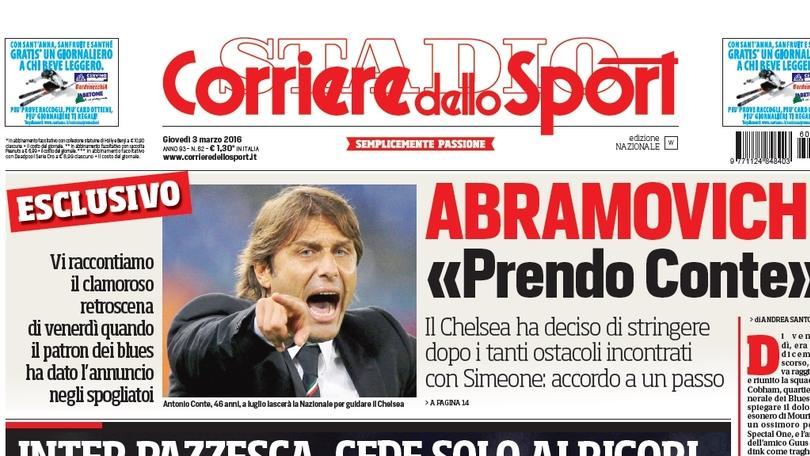 Calciomercato Chelsea, esclusivo - Abramovich ha deciso: «Prendo Conte!»