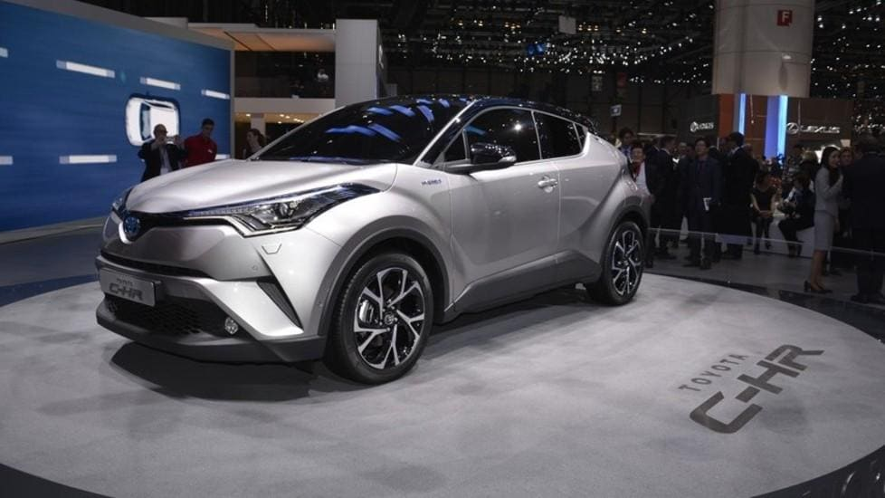 Nuova Toyota CH-R al Salone di Ginevra
