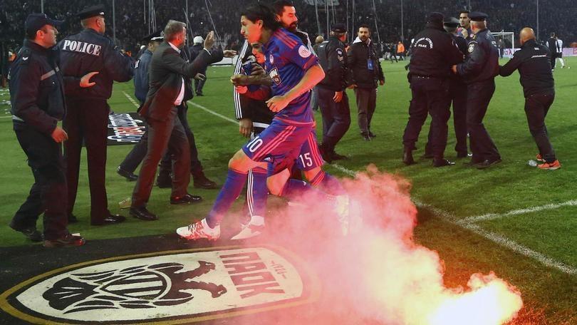 Calcio, Grecia: annullata Coppa di Lega dopo disordini, non verrà assegnata