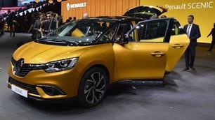 Nuova Renault Scenic al Salone di Ginevra 2016