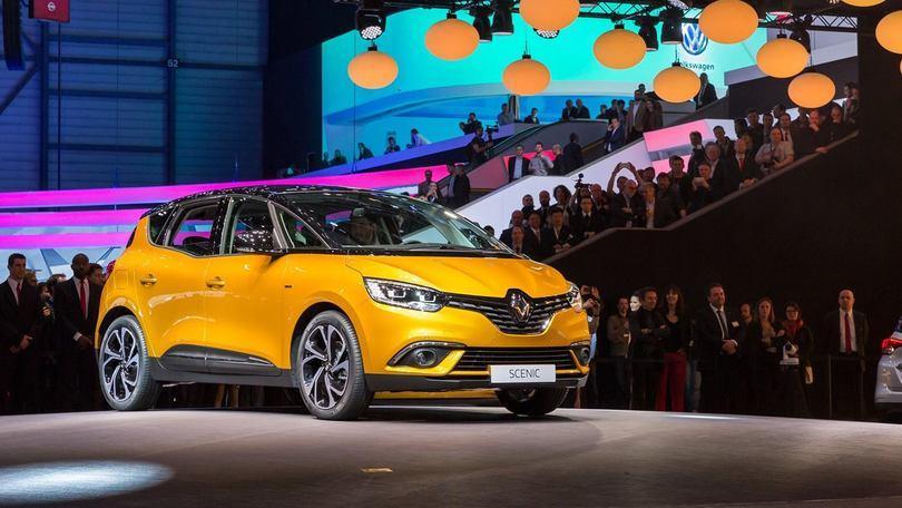 Renault Scénic, ventenne sexy al Salone di Ginevra