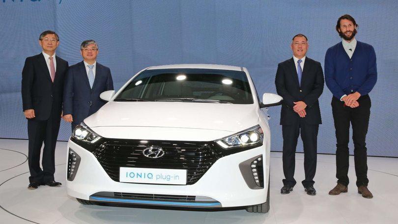 Hyundai Ionic, tre volte green