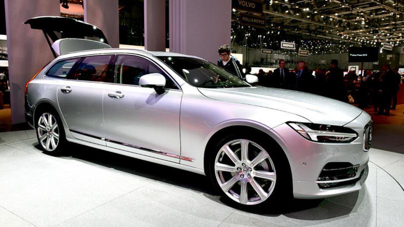 Volvo a Ginevra con la V90, ma il meglio deve ancora venire
