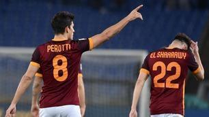 Roma-Fiorentina 4-1, uragano giallorosso