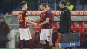 Roma-Fiorentina, c'è spazio anche per Totti