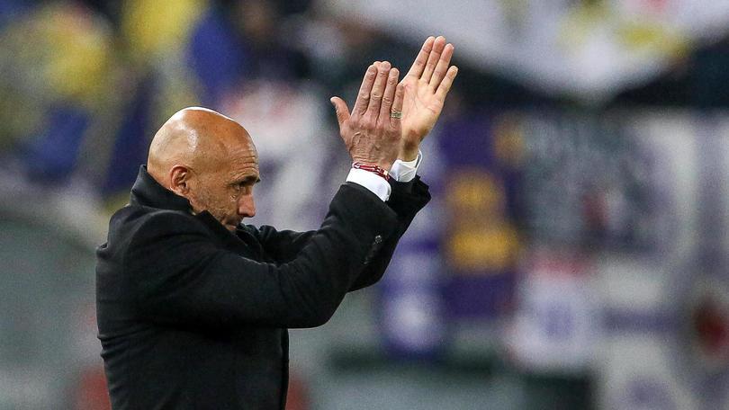 Roma-Fiorentina, Spalletti: «Grandissima vittoria, ci stiamo prendendo gusto...»