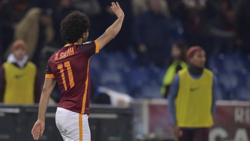 Roma-Fiorentina, la moviola: sull'1-0 Salah in off side e su Badelj c'è il rigore