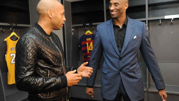 Bryant incontra Thierry Henry: