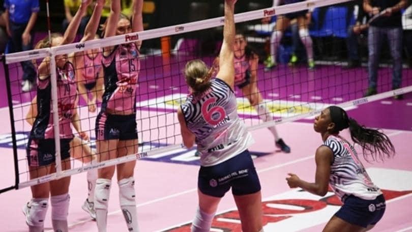 Volley: A1 Femminile, la Pomì doma Scandicci