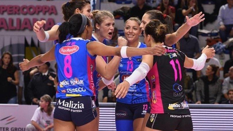 Volley: A1 Femminile, Busto si arrende a Novara solo al tie break