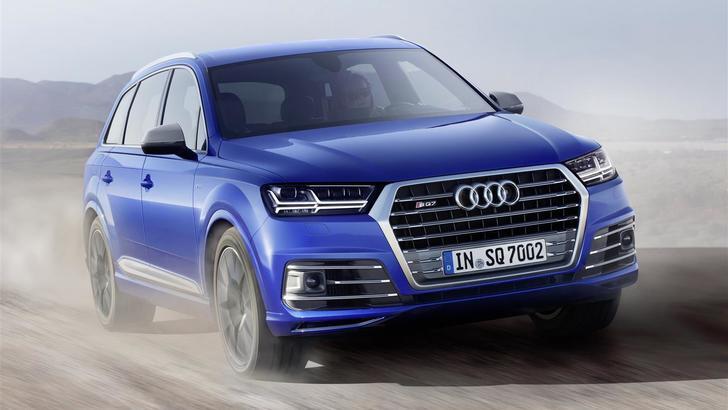Nuova Audi SQ7, sfida a Levante S e Cayenne GTS