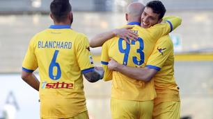 Serie A, Frosinone-Udinese 2-0: Ciofani e Blanchard show al Matusa