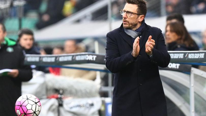 Serie A Sassuolo, Di Francesco: «Possiamo arrivare in Europa League»