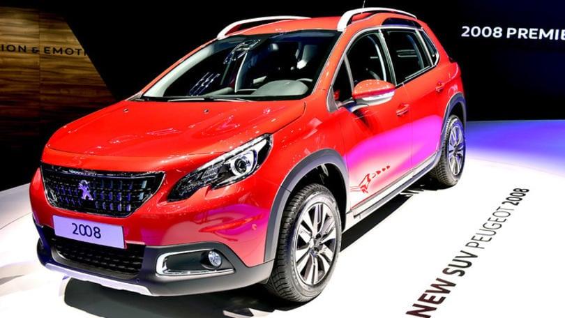 Peugeot, nuovo look per la 2008 pensando alla Dakar