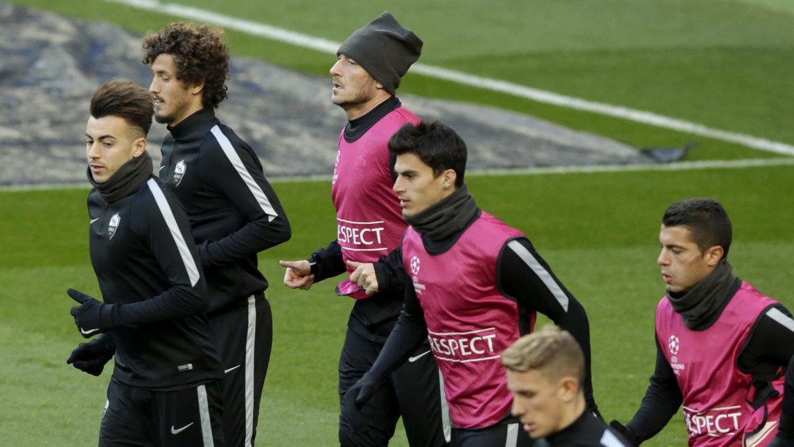 Allenamento calcio PSV prima