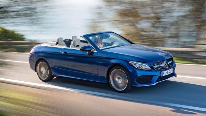 Mercedes Classe C Cabrio, la piccola Classe S arriva in estate