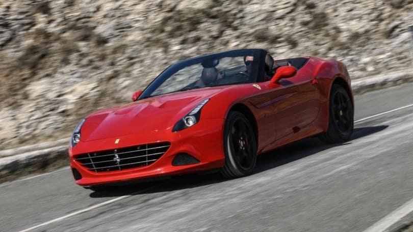 Ferrari California Handling Speciale, tigre ammaestrata