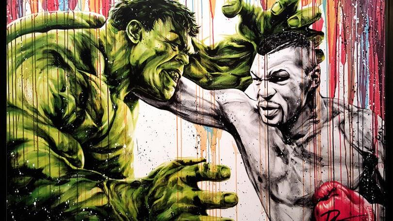 Mike Tyson VS l'incredibile Hulk