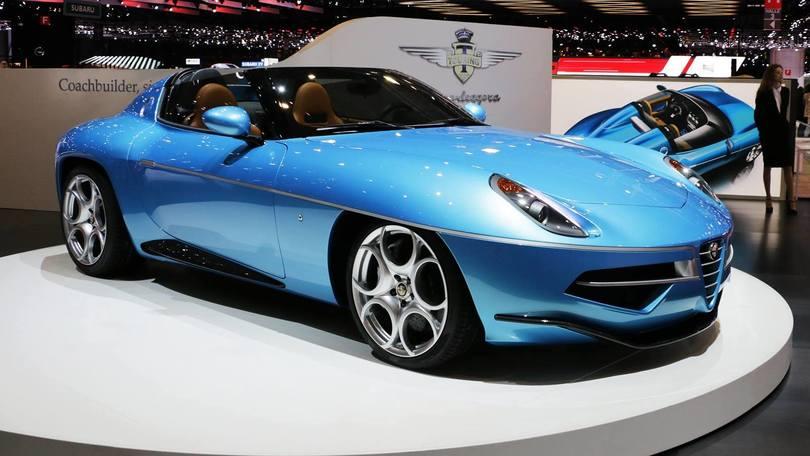 Alfa Disco Volante Spyder by Touring, eccellenza italiana a Ginevra
