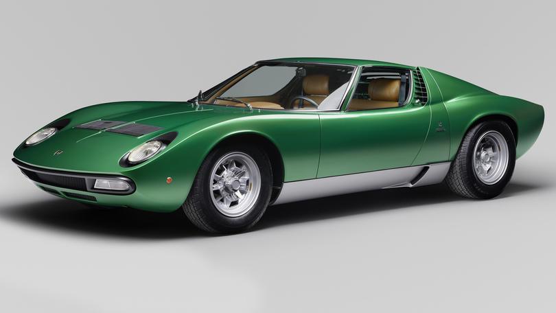 Lamborghini restaura il prototipo della Miura SV